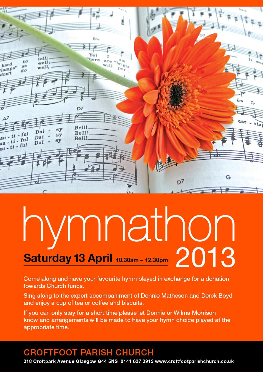 Hymnathon 2013 Poster