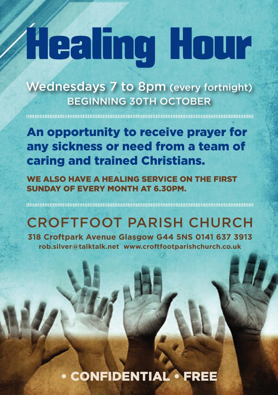 Croftfoot Healing Hour