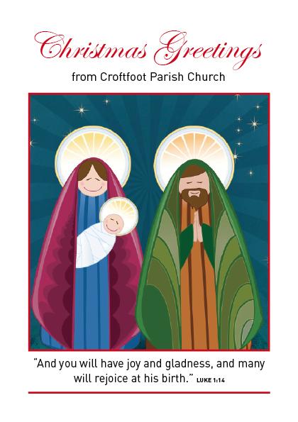 Croftfoot Parish Church Christmas Card 13
