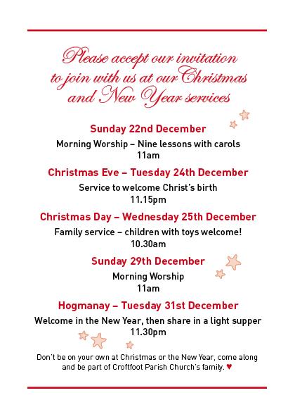 Croftfoot Parish Church Christmas Card 13_3