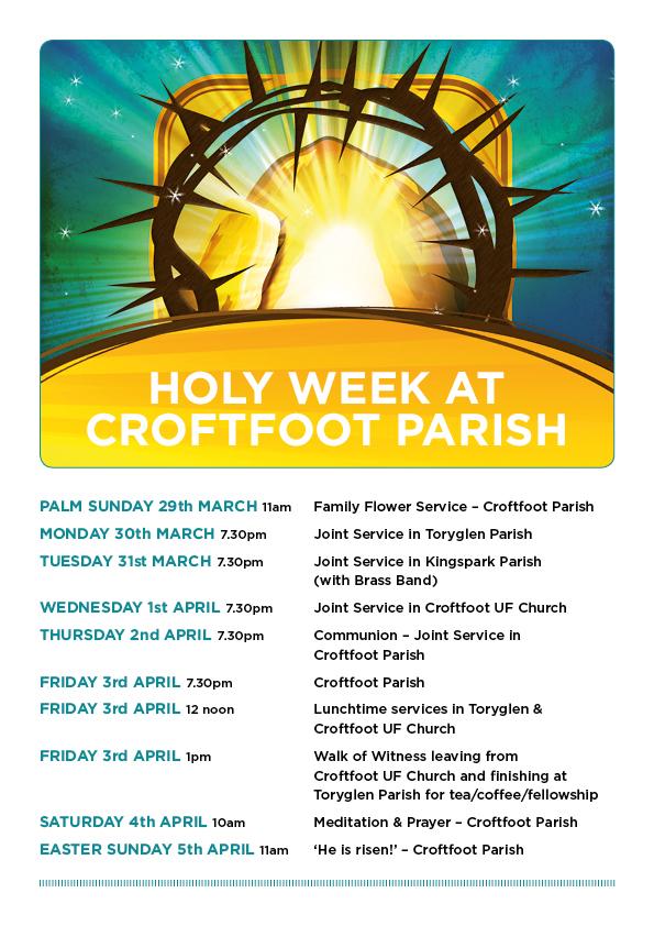 Croftfoot Easter Week 2015