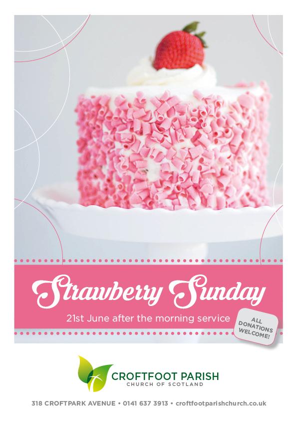 Croftfoot Parish Church Strawberry Sunday