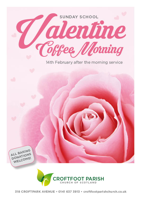 Croftfoot Parish Church Valentine Coffee Morning 2016