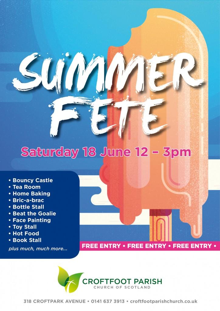 Croftfoot Parish Church Summer Fete 2016