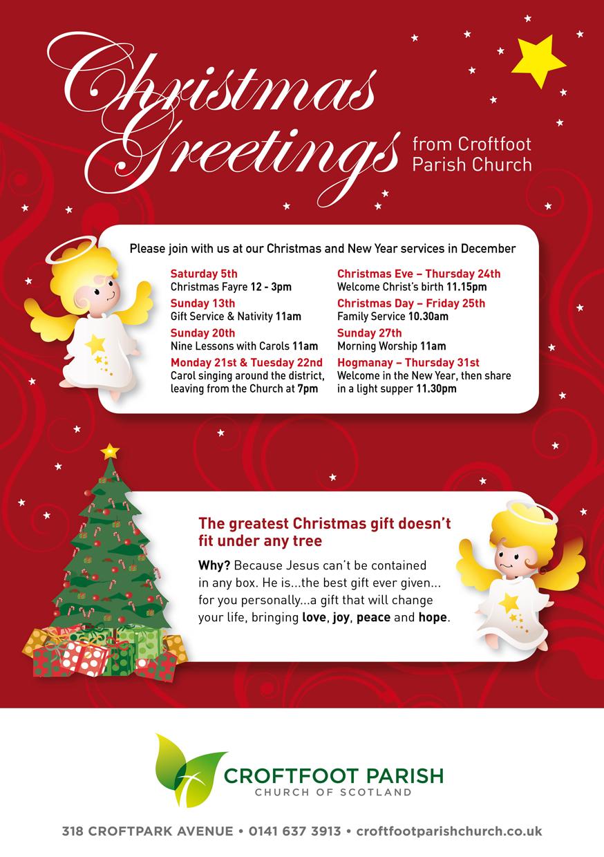 Croftfoot parish christmas greetings 2016 croftfoot parish church croftfoot parish christmas greetings m4hsunfo