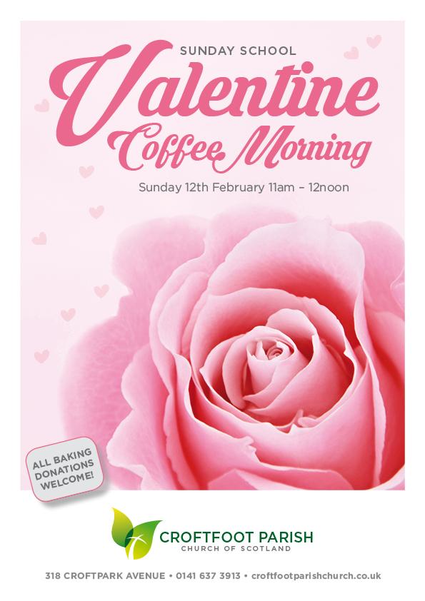 Croftfoot Parish Church Valentine Poster 2017